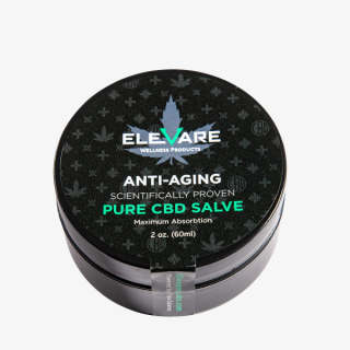 Elevare Labs Anti Aging CBD Topical Container