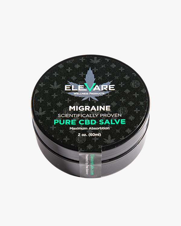 Elevare Migraine Relief CBD Topical Container