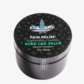 Elevare Pain Relief CBD Topical Container