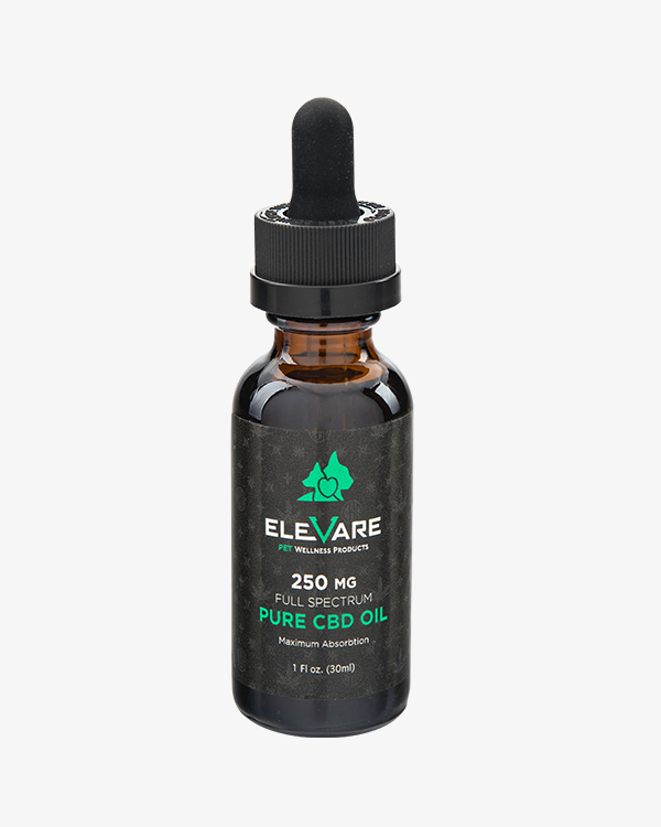 Elevare CBD Pet Tincture Bottle